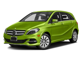 Kryptonite Green Metallic 2016 Mercedes-Benz B-Class Pictures B-Class Hatchback 5D Electric Drive photos front view