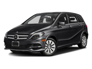 Night Black 2016 Mercedes-Benz B-Class Pictures B-Class Hatchback 5D Electric Drive photos front view
