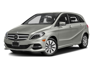 Polar Silver Metallic 2016 Mercedes-Benz B-Class Pictures B-Class Hatchback 5D Electric Drive photos front view