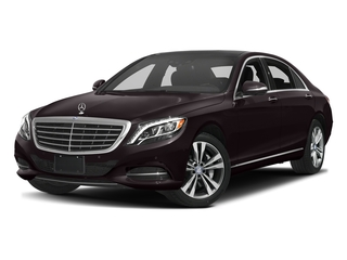 Ruby Black Metallic 2016 Mercedes-Benz S-Class Pictures S-Class Sedan 4D S550e V6 Turbo photos front view