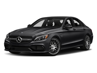 Black 2016 Mercedes-Benz C-Class Pictures C-Class Sedan 4D C63 AMG V8 Turbo photos front view