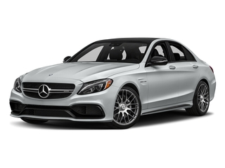 Iridium Silver Metallic 2016 Mercedes-Benz C-Class Pictures C-Class Sedan 4D C63 AMG V8 Turbo photos front view