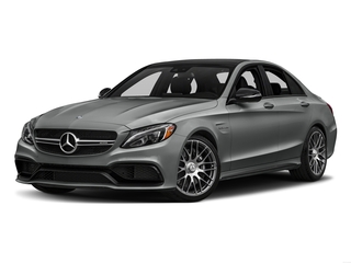 Palladium Silver Metallic 2016 Mercedes-Benz C-Class Pictures C-Class Sedan 4D C63 AMG V8 Turbo photos front view