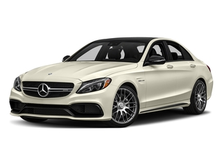 Diamond White Metallic 2016 Mercedes-Benz C-Class Pictures C-Class Sedan 4D C63 AMG V8 Turbo photos front view