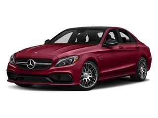 designo Cardinal Red Metallic 2016 Mercedes-Benz C-Class Pictures C-Class Sedan 4D C63 AMG V8 Turbo photos front view