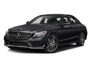 Black 2016 Mercedes-Benz C-Class Pictures C-Class Sedan 4D C450 Sport AMG AWD V6 Turbo photos front view