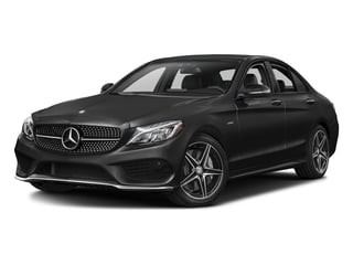 Obsidian Black Metallic 2016 Mercedes-Benz C-Class Pictures C-Class Sedan 4D C450 Sport AMG AWD V6 Turbo photos front view