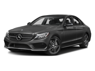 Steel Gray Metallic 2016 Mercedes-Benz C-Class Pictures C-Class Sedan 4D C450 Sport AMG AWD V6 Turbo photos front view