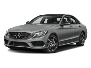 Palladium Silver Metallic 2016 Mercedes-Benz C-Class Pictures C-Class Sedan 4D C450 Sport AMG AWD V6 Turbo photos front view