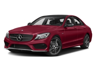 designo Cardinal Red Metallic 2016 Mercedes-Benz C-Class Pictures C-Class Sedan 4D C450 Sport AMG AWD V6 Turbo photos front view