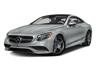 Iridium Silver Metallic 2016 Mercedes-Benz S-Class Pictures S-Class Coupe 2D S63 AMG AWD V8 Turbo photos front view