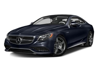 Lunar Blue Metallic 2016 Mercedes-Benz S-Class Pictures S-Class Coupe 2D S63 AMG AWD V8 Turbo photos front view