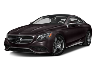 Ruby Black Metallic 2016 Mercedes-Benz S-Class Pictures S-Class Coupe 2D S63 AMG AWD V8 Turbo photos front view