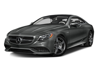 Selenite Grey Metallic 2016 Mercedes-Benz S-Class Pictures S-Class Coupe 2D S63 AMG AWD V8 Turbo photos front view