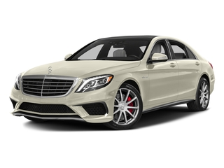 designo Diamond White 2016 Mercedes-Benz S-Class Pictures S-Class Sedan 4D S63 AMG AWD V8 Turbo photos front view
