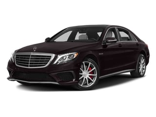 Ruby Black Metallic 2016 Mercedes-Benz S-Class Pictures S-Class Sedan 4D S63 AMG AWD V8 Turbo photos front view