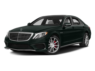 Emerald Green Metallic 2016 Mercedes-Benz S-Class Pictures S-Class Sedan 4D S63 AMG AWD V8 Turbo photos front view