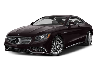 Ruby Black Metallic 2016 Mercedes-Benz S-Class Pictures S-Class 2 Door Coupe Rear Wheel Drive photos front view