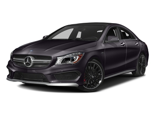 Northern Lights Violet Metallic 2016 Mercedes-Benz CLA Pictures CLA Sedan 4D CLA45 AMG AWD I4 Turbo photos front view
