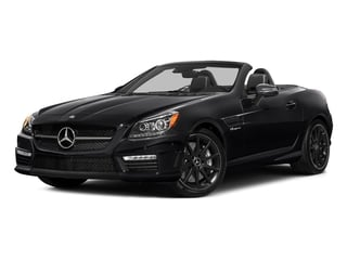 Black 2016 Mercedes-Benz SLK Pictures SLK Roadster 2D SLK55 AMG V8 photos front view