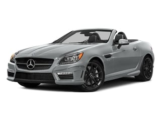 Iridium Silver Metallic 2016 Mercedes-Benz SLK Pictures SLK Roadster 2D SLK55 AMG V8 photos front view