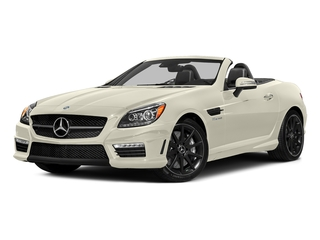 designo Diamond White Metallic 2016 Mercedes-Benz SLK Pictures SLK Roadster 2D SLK55 AMG V8 photos front view