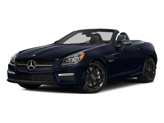 Lunar Blue Metallic 2016 Mercedes-Benz SLK Pictures SLK Roadster 2D SLK55 AMG V8 photos front view