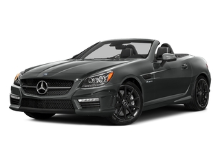 Selenite Grey Metallic 2016 Mercedes-Benz SLK Pictures SLK Roadster 2D SLK55 AMG V8 photos front view