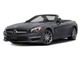 Shadow Gray Matte 2016 Mercedes-Benz SL Pictures SL Roadster 2D SL63 AMG V8 Turbo photos front view