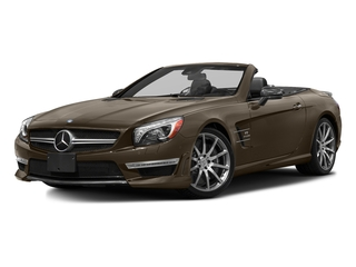 Dolomite Brown Metallic 2016 Mercedes-Benz SL Pictures SL Roadster 2D SL63 AMG V8 Turbo photos front view