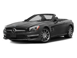 Selenite Grey Metallic 2016 Mercedes-Benz SL Pictures SL Roadster 2D SL63 AMG V8 Turbo photos front view