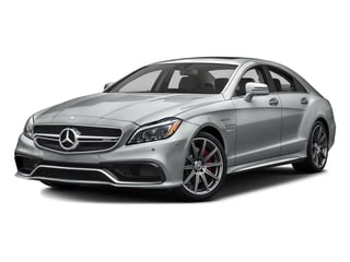 Iridium Silver Metallic 2016 Mercedes-Benz CLS Pictures CLS Sedan 4D CLS63 AMG S AWD V8 photos front view