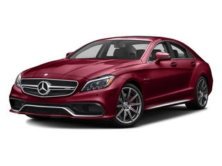designo Cardinal Red Metallic 2016 Mercedes-Benz CLS Pictures CLS Sedan 4D CLS63 AMG S AWD V8 photos front view