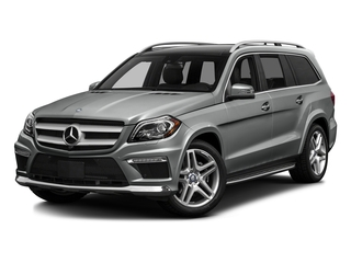 Palladium Silver Metallic 2016 Mercedes-Benz GL Pictures GL Utility 4D GL550 4WD V8 photos front view