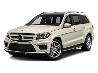 Diamond White Metallic 2016 Mercedes-Benz GL Pictures GL Utility 4D GL550 4WD V8 photos front view