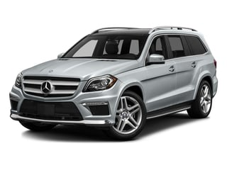 Diamond Silver Metallic 2016 Mercedes-Benz GL Pictures GL Utility 4D GL550 4WD V8 photos front view