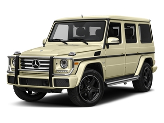 Light Ivory 2016 Mercedes-Benz G-Class Pictures G-Class 4 Door Utility 4Matic photos front view