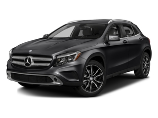 Cosmos Black Metallic 2016 Mercedes-Benz GLA Pictures GLA Utility 4D GLA250 AWD I4 Turbo photos front view