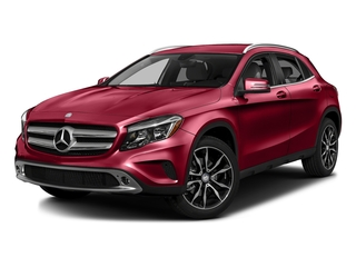 Jupiter Red 2016 Mercedes-Benz GLA Pictures GLA Utility 4D GLA250 AWD I4 Turbo photos front view