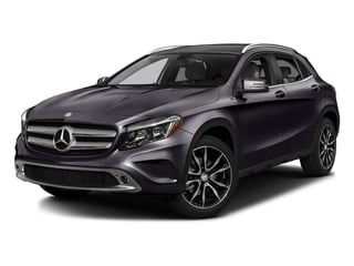Northern Lights Violet Metallic 2016 Mercedes-Benz GLA Pictures GLA Utility 4D GLA250 2WD I4 Turbo photos front view