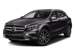 Northern Lights Violet Metallic 2016 Mercedes-Benz GLA Pictures GLA Utility 4D GLA250 AWD I4 Turbo photos front view