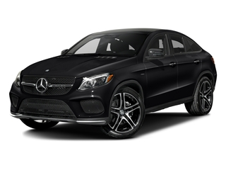 Black 2016 Mercedes-Benz GLE Pictures GLE Utility 4D GLE450 Sport Coupe AWD V6 photos front view