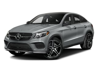 Iridium Silver Metallic 2016 Mercedes-Benz GLE Pictures GLE Utility 4D GLE450 Sport Coupe AWD V6 photos front view