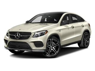 designo Diamond White Metallic 2016 Mercedes-Benz GLE Pictures GLE Utility 4D GLE450 Sport Coupe AWD V6 photos front view