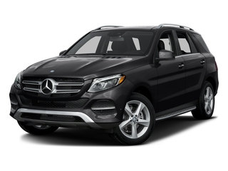 Black 2016 Mercedes-Benz GLE Pictures GLE Utility 4D GLE300 AWD I4 Diesel photos front view