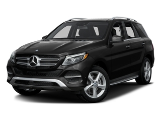 Obsidian Black Metallic 2016 Mercedes-Benz GLE Pictures GLE Utility 4D GLE300 AWD I4 Diesel photos front view
