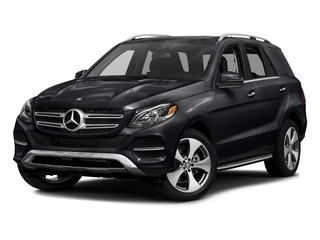 Black 2016 Mercedes-Benz GLE Pictures GLE Utility 4D GLE350 AWD V6 photos front view