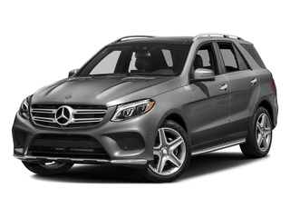 Steel Gray Metallic 2016 Mercedes-Benz GLE Pictures GLE Utility 4D GLE400 AWD V6 photos front view