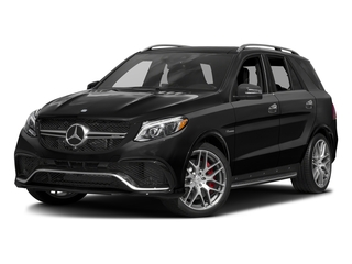 Obsidian Black Metallic 2016 Mercedes-Benz GLE Pictures GLE Utility 4D GLE63 AMG S AWD V8 photos front view