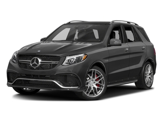 Steel Gray Metallic 2016 Mercedes-Benz GLE Pictures GLE Utility 4D GLE63 AMG S AWD V8 photos front view
